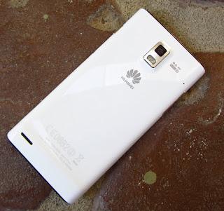 Huawei Ascend P1 slim design