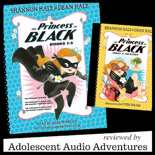 Adolescent Audio Adventures reviews Princess in Black series