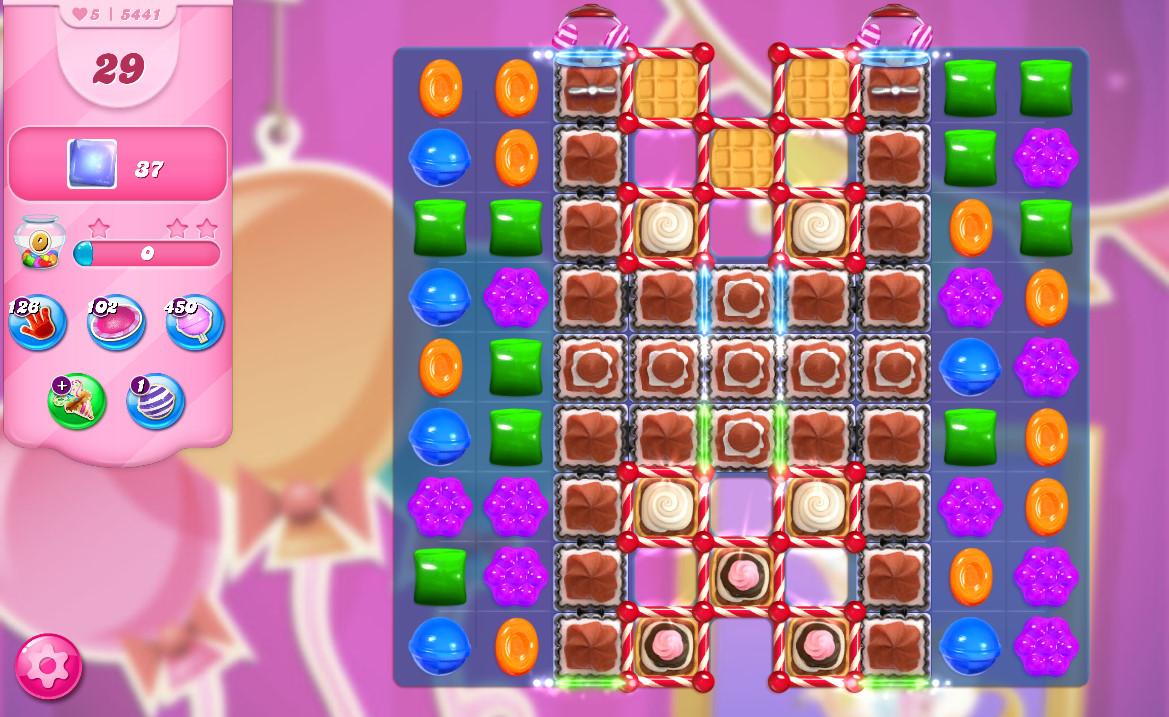 Candy Crush Saga level 5441