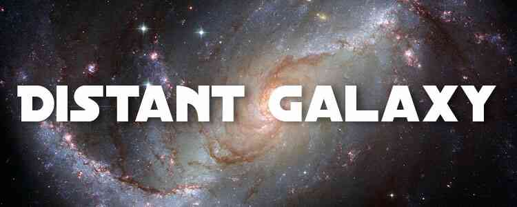 Distant Galaxy Free Font Download