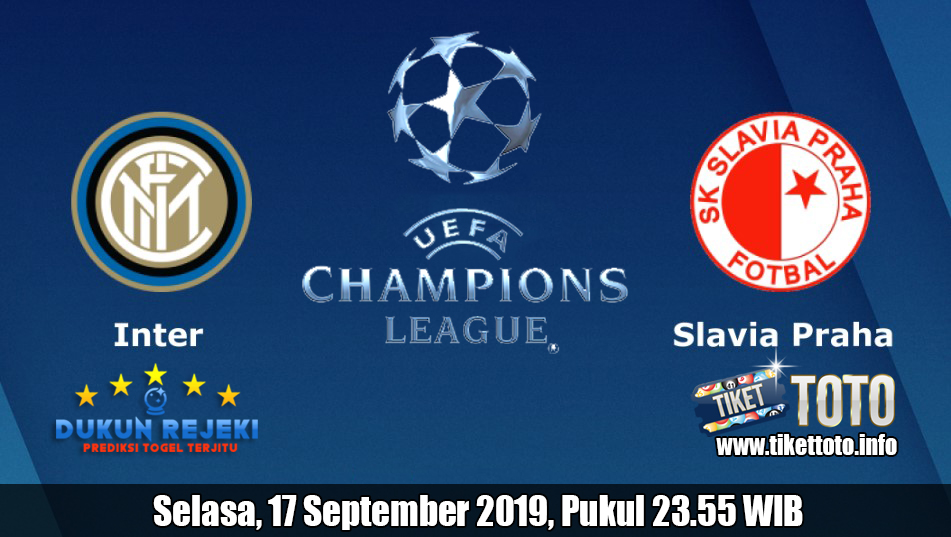 Prediksi Inter Milan VS Slavia Prague 17 September 2019