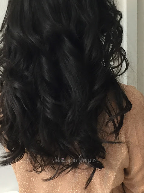 Irresistible Me Moonstone Automatic Steam Curler Before After Pictures