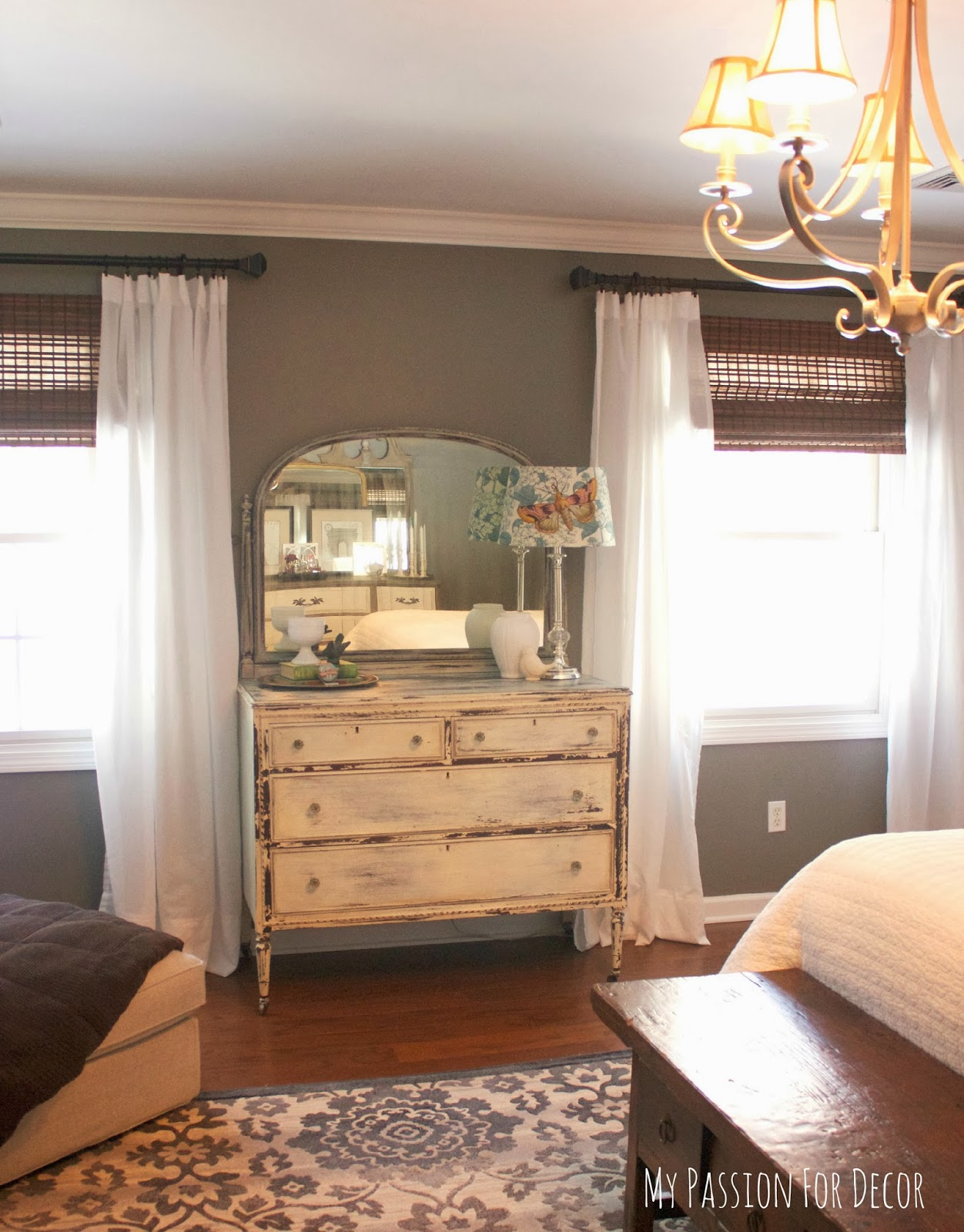 My Passion For Decor Master Bedroom Makeover Using