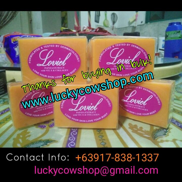 loviel papaya soap