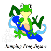 Jumping Frog Jigsaw Puzzle