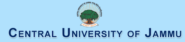 Central University of Jammu Recruitment, 2019