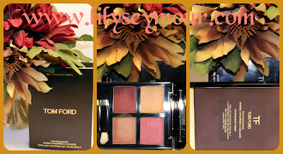 Tom Ford's Burnished Amber Quad