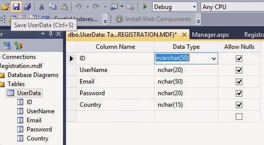 How to Edit and Save Database Table Data without Dropping