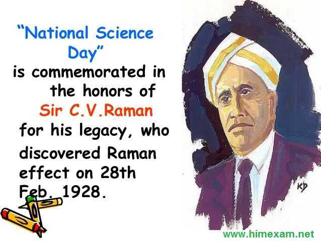 28 February : National Science Day