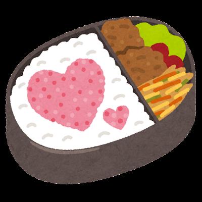 愛妻弁当のイラスト