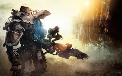 titanfall widescreen hd wallpaper