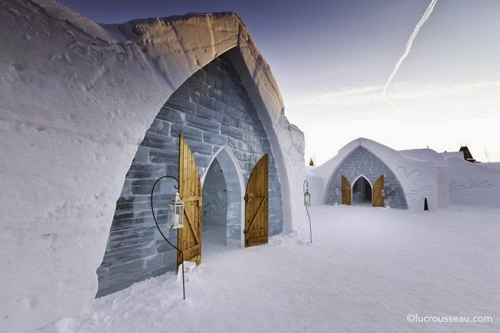 Ice Hotel and Igloo Stays - Embrace Christmas Spirit in Beautiful Quebec City, Canada