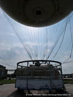 Fesselballon Highflyer, Hamburg, Gondel