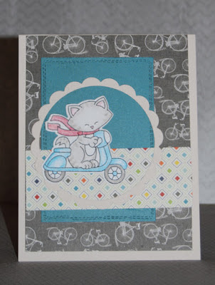 Christine's card features Newton Scoots By by Newton's Nook Designs; #newtonsnook