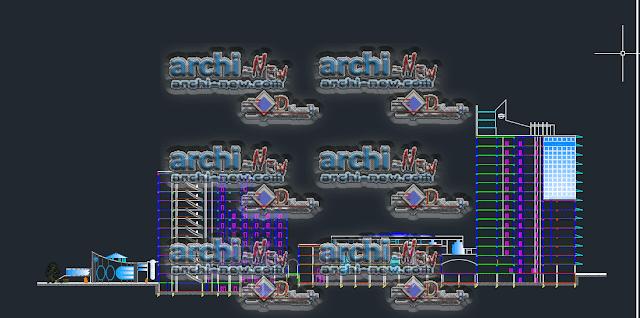 Télécharger le fichier AutoCAD DWG pour projeter un