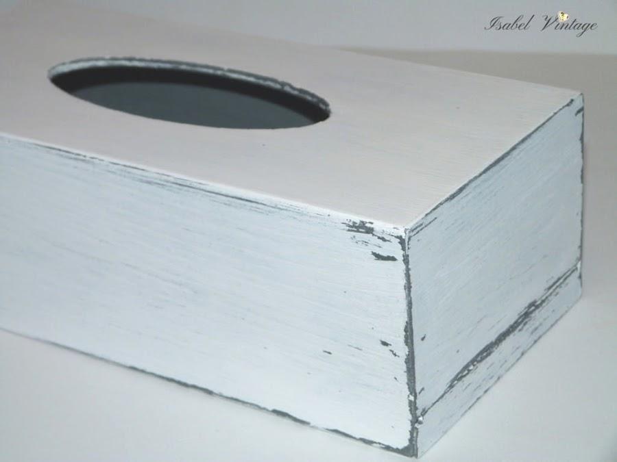 caja-pañuelos-chalk-paint-decapada