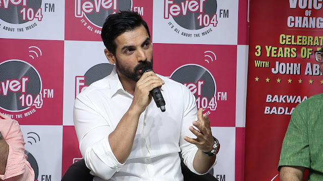 John Abraham AT Fever Voice Of Change Awards 2017 Fever 104