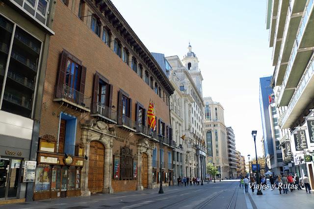 Calle del Coso, Zaragoza