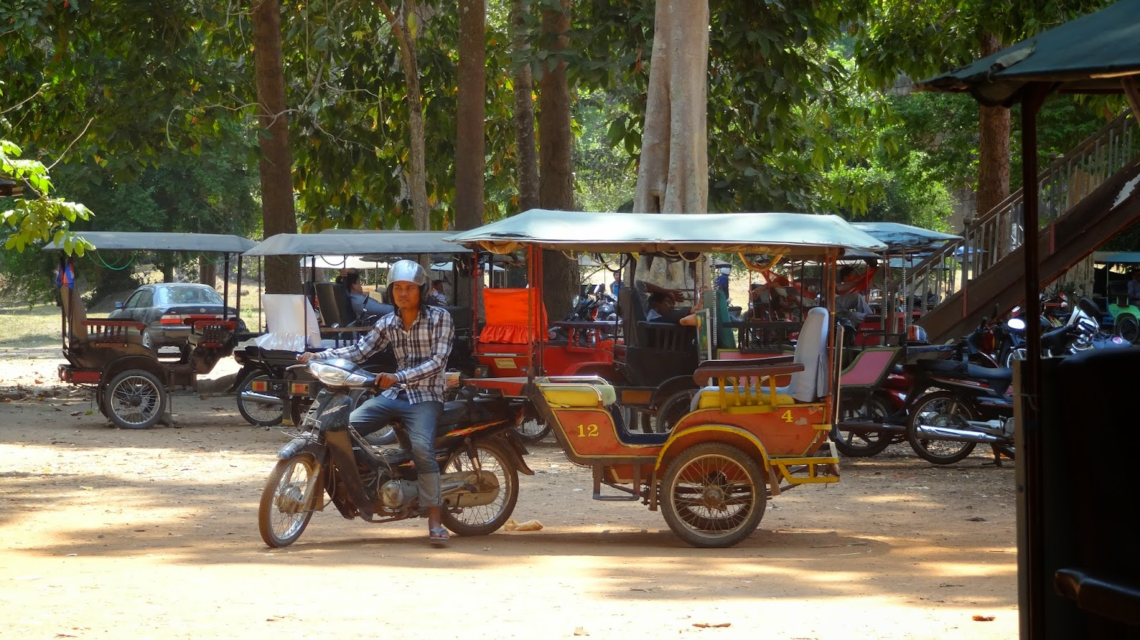 Cambodia, Siem Reap, transportation
