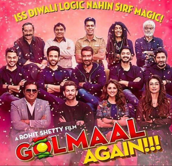 Golmaal Again -mistakes