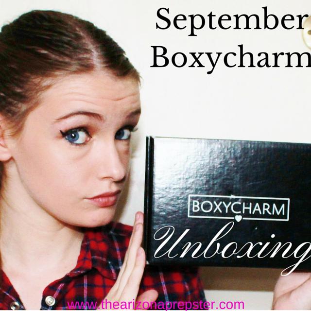 BOXYCHARM Unboxing   September 2015