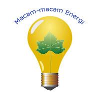 Macam-macam energi dan kegunaannya
