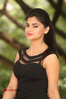Actress Kamna Ranwat  Pictures in Black Short Dress at Selfie Raja Interview  0153