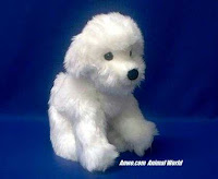 Bichon Frise plush stuffed animal toy