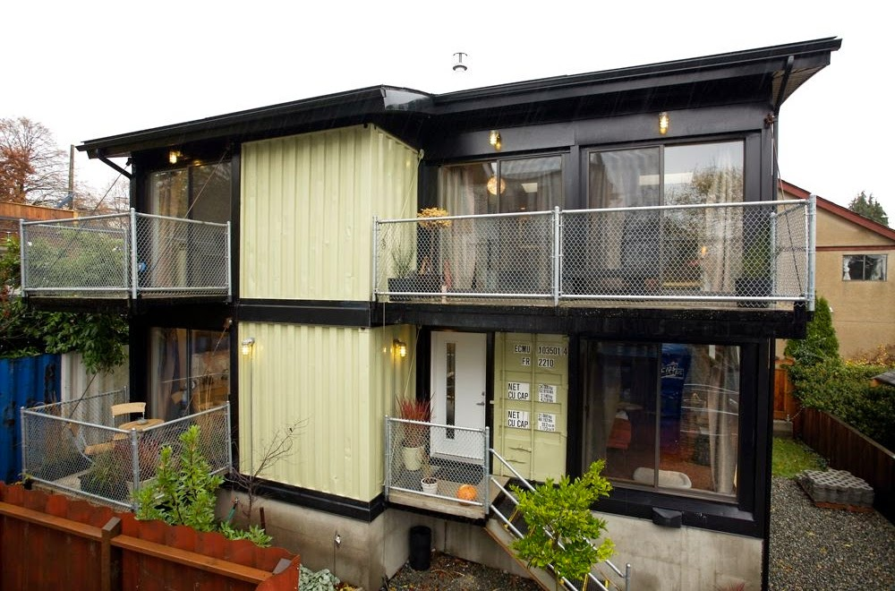 Seven Benefit Build Home With Shipping Container