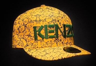 New Era Kenzo Introduced Stripes And Floral 5950 Fitted Hat  fbed36b144f