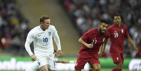 Rooney thi đấu tại World Cup 2014