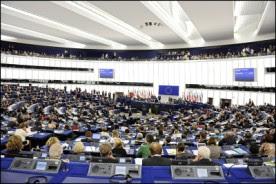 Sala plenarna Parlamentu Europejskiego UE