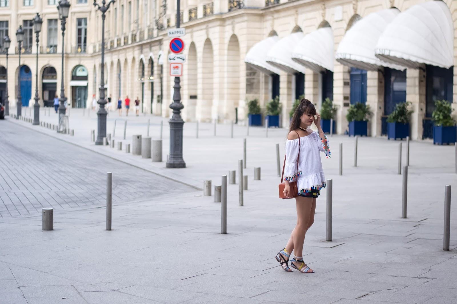 Chic parisian style, summer style, manoush, look, blogger; fashion photography, blog mode paris
