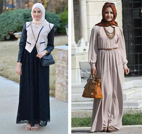 model baju pesta hijab