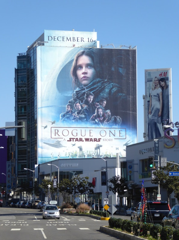 Rogue One Star Wars billboard
