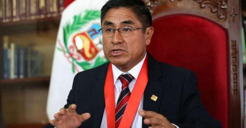 MINEDU exige el retiro del juez César Hinostroza y de miembros del CNM - www.minedu.gob.pe