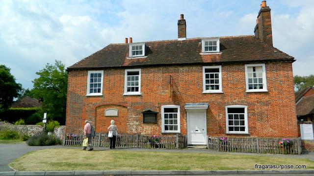 chalé onde morou Jane Austen
