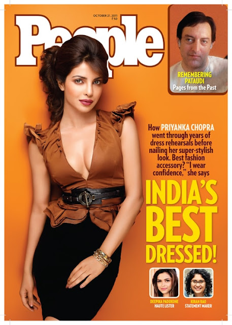 Priyanka Chopra on People Magazine Cover