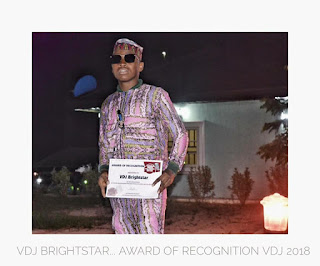 GIST: Dj BrightStar Bags Award Of Special Recognition On World Music Day