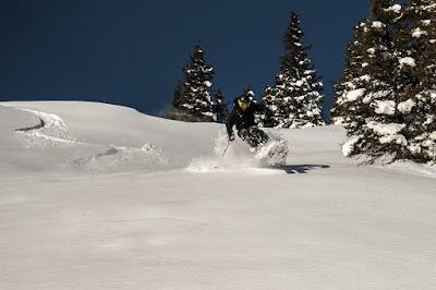 die richtige schwungtechnik für jeden Schnee mit den skien