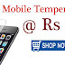 All Mobile Tempered Glass & Accessories at Rs.1 + Shipping Charges Rs 50