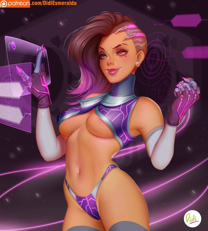 ecchi sexy overwatch girls
