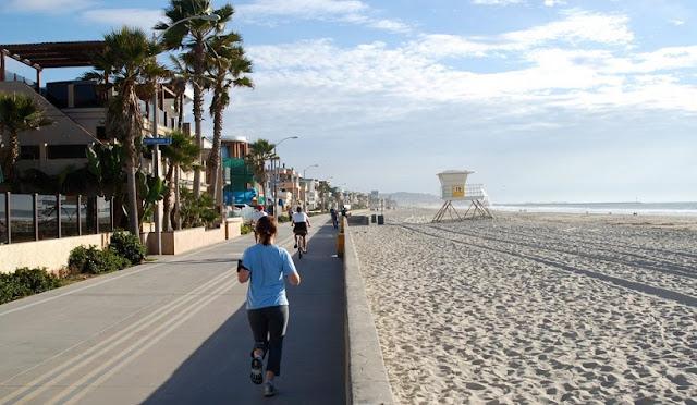 Principais praias em San Diego