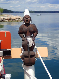 Hawaiian voyaging canoe Hokule'a: female idol