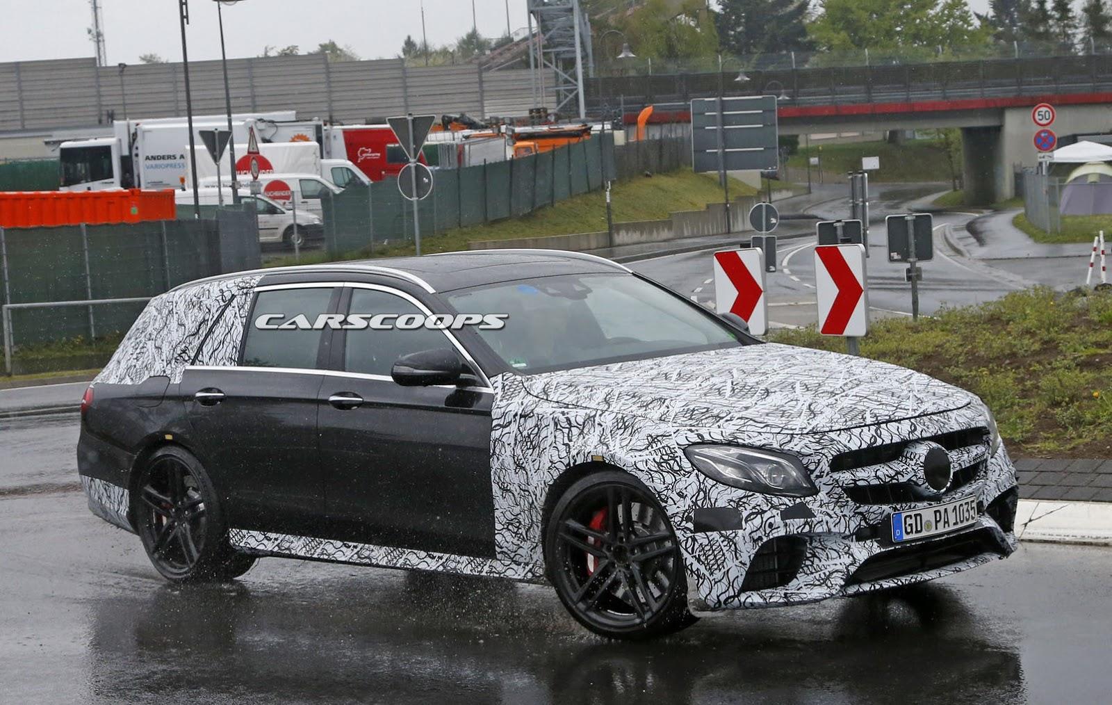 BMW Airbag Recall >> New Mercedes-AMG E63 Wagon Divulges 2017 E-Class Estate's ...