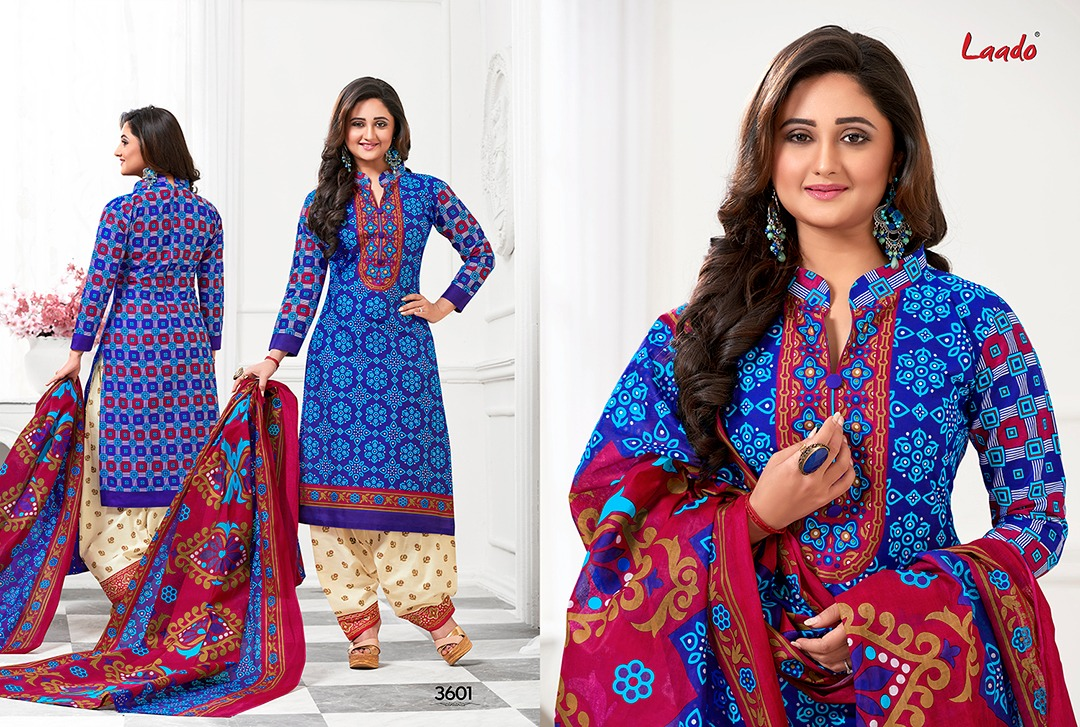Laado Vol 36 – Cotton Printed Casual Wear Dress Material