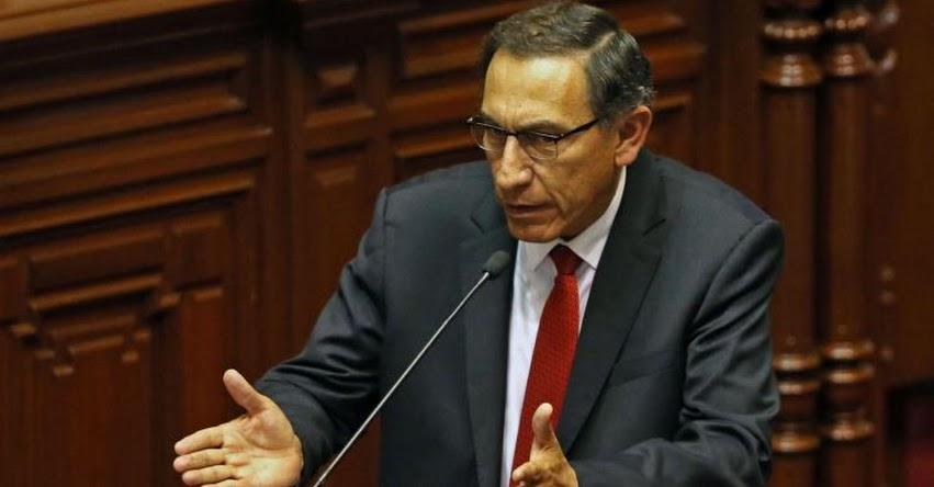 Vizcarra descarta renuncia al cargo de vicepresidente de la República, tras pedido de fujimoristas