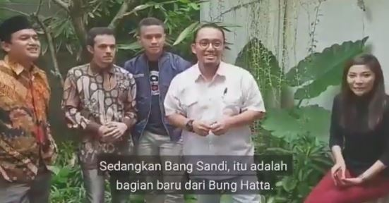 Samakan Sandiaga Uno dengan Bung Hatta Itu Gagal Bernalar Parah dan Melecehkan Sejarah!