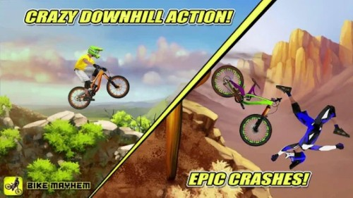 Crazy Downhill Action