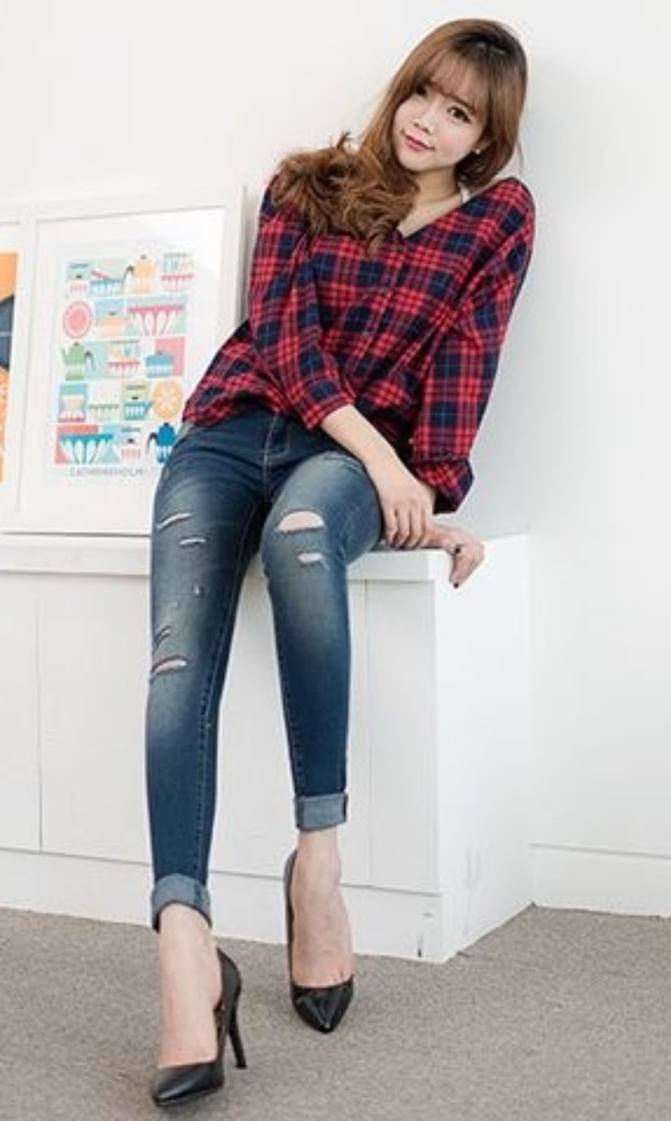 Skinny Jeans For Teenage Girl-1992
